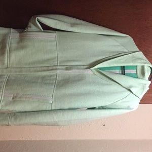 Yogi long button up sweatshirt